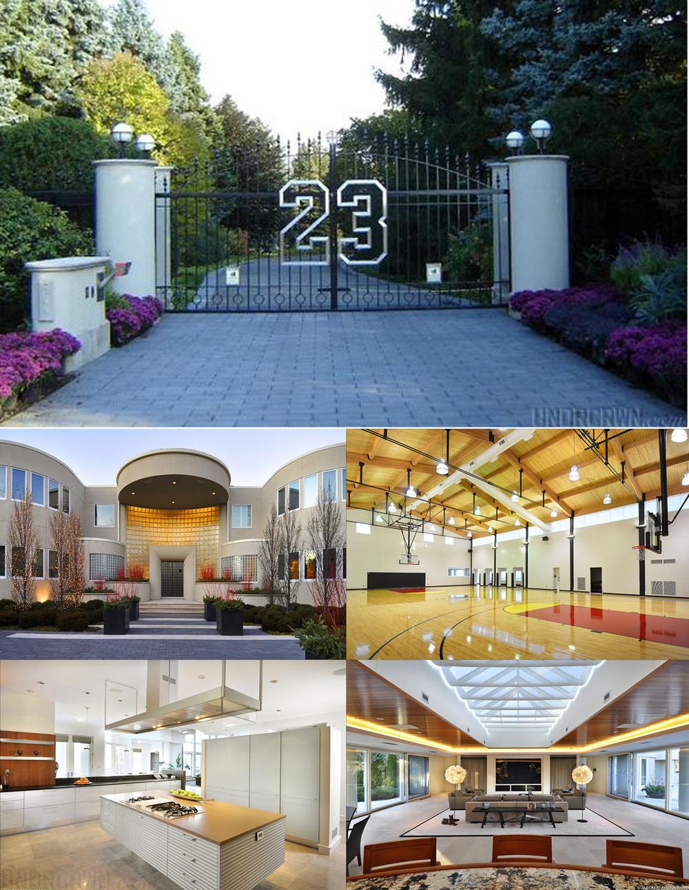 JordanCrib Top 15 Most Expensive Celebrity Homes