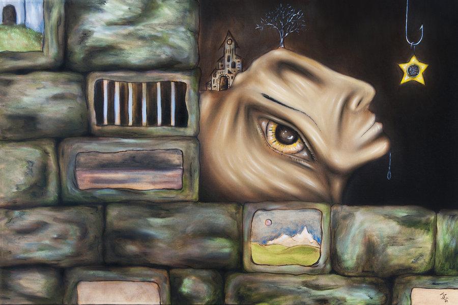 Justin-Gedak 25 Strangest Wall Paintings