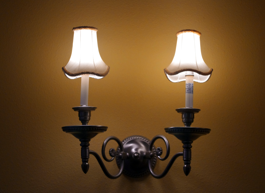 LED-WALL-SCONCE-LIGHT-BULBS LEDs 10 uses in Architecture