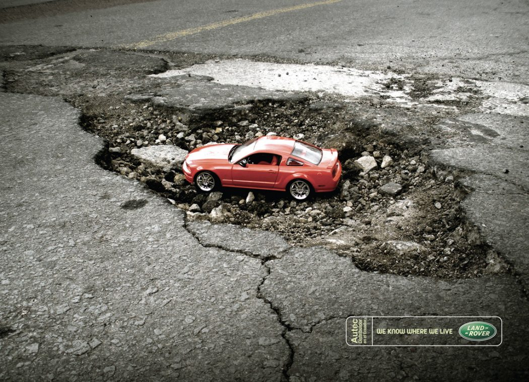 Land-Rover-Ecuador-We-know-where-we-live-1 40 Most Creative and Dazzling Auto Ads