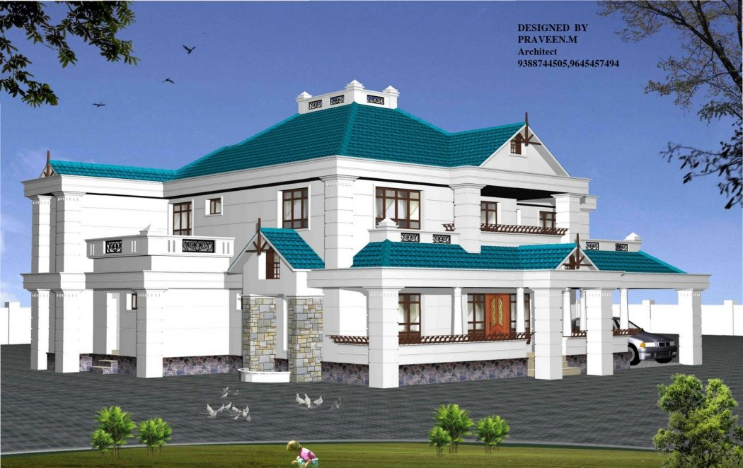 Latest-Trend-Kerala-Home-plan-3D-View-Photos0006 Top 3D Architecture Modeling