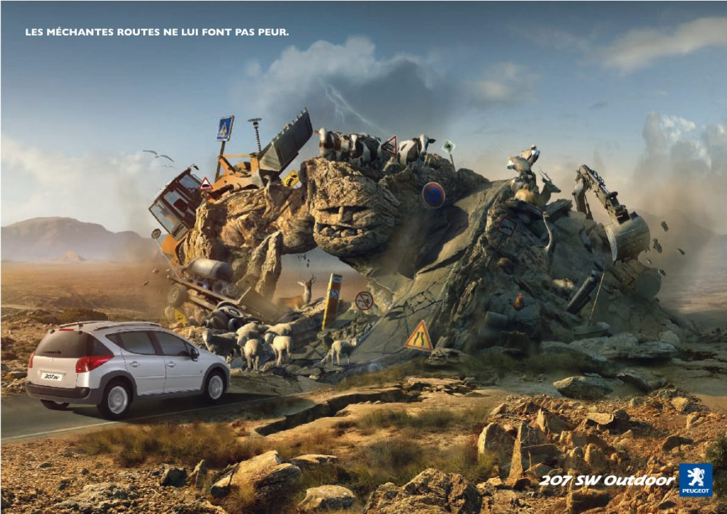 Malicious-Roads-o 40 Most Creative and Dazzling Auto Ads