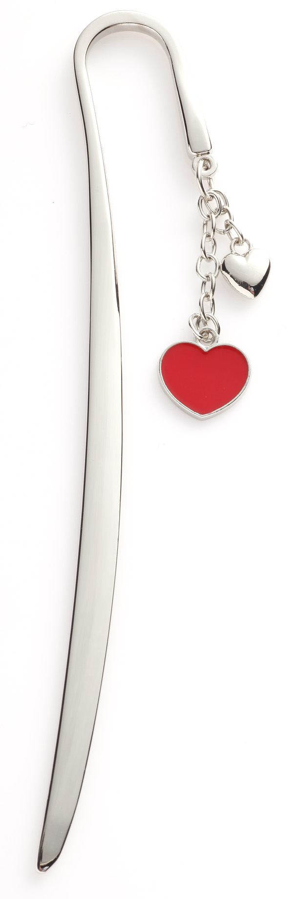 Metal-Bookmark-Gift-With-Red-Heart-Pendant-BA004- Best 20 giveaways ideas for birthdays