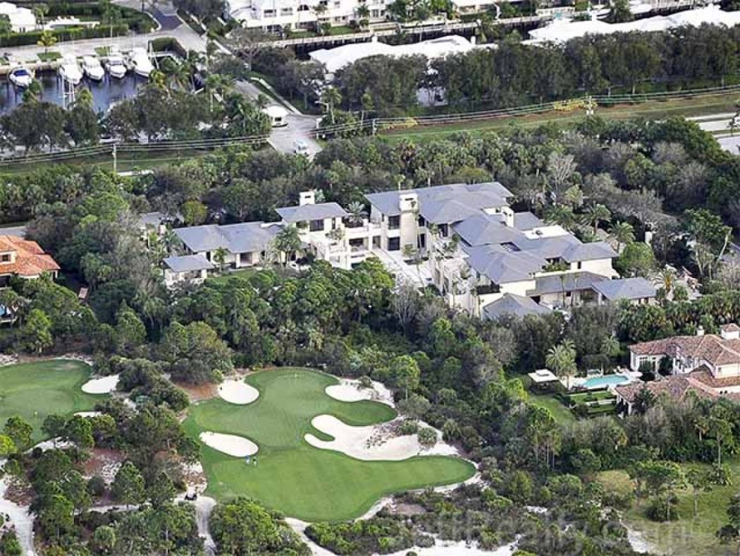 Michael-Jordan-Estate-2 Top 15 Most Expensive Celebrity Homes