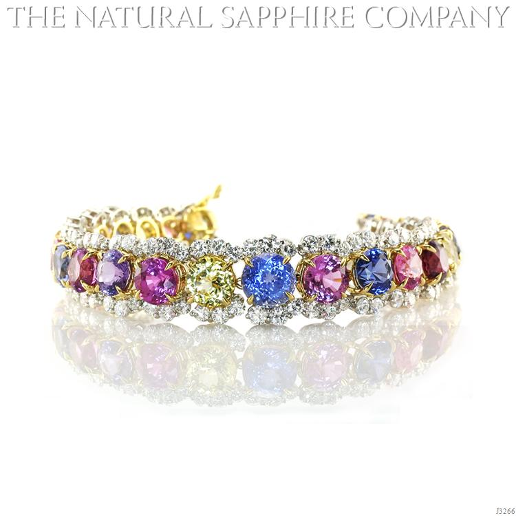 Natural_Sapphire_Jewelry_Bracelet_Round_Multi-Color_J3266_1-Full What Do You Say about These Rare and Precious Rings?!