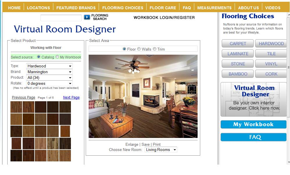 Interior design software online beautiful home interiors for Interactive room planner