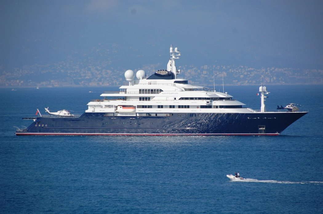 OctopusYacht 15 Most luxurious Yachts in The World