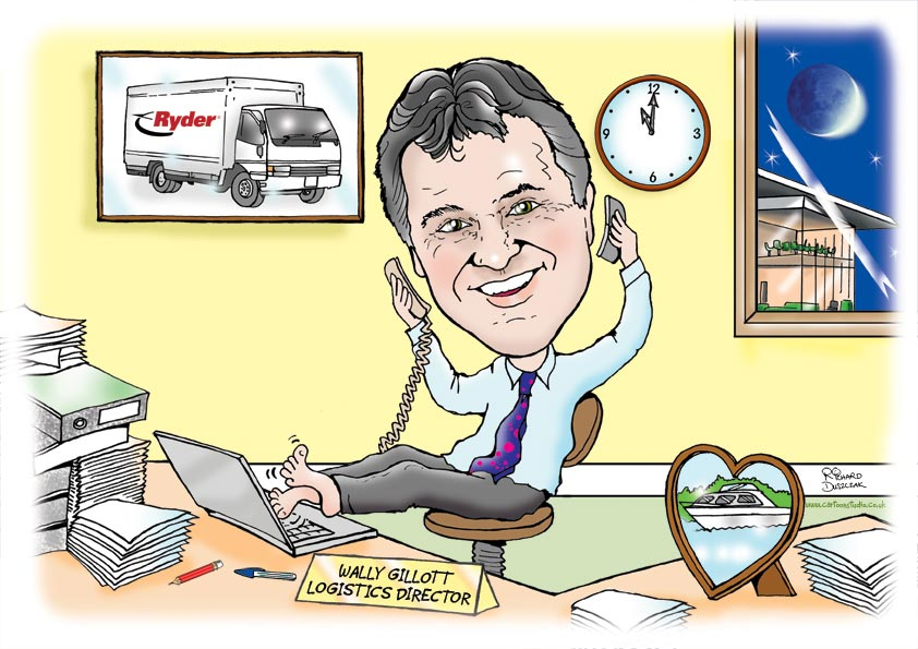 Office-caricature Do You Know How To Draw Caricatures?