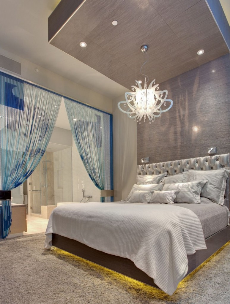 Oversized-Pendant-Lights-Elegant-Bedroom-Design- Creative 10 Ideas for Residential Lighting