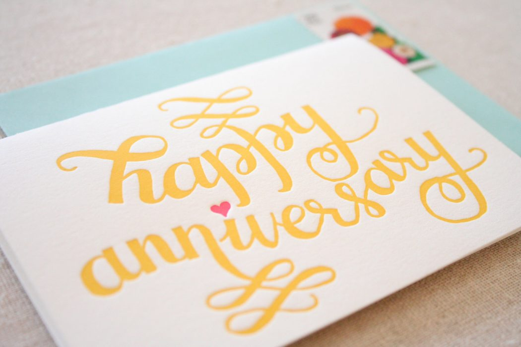 Parrott-Design-Studio-Anniversary-Card Anniversary Greeting Cards For Your Lover, Parents Or Partner