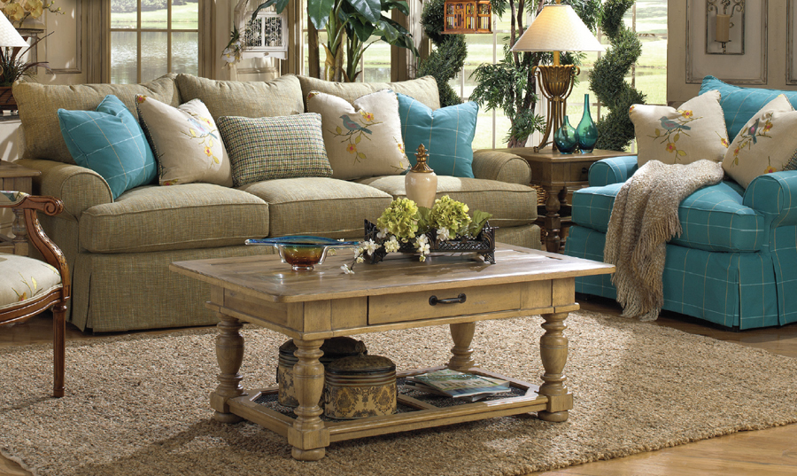 Why people choose paula deen furniture for Paula deen living room furniture