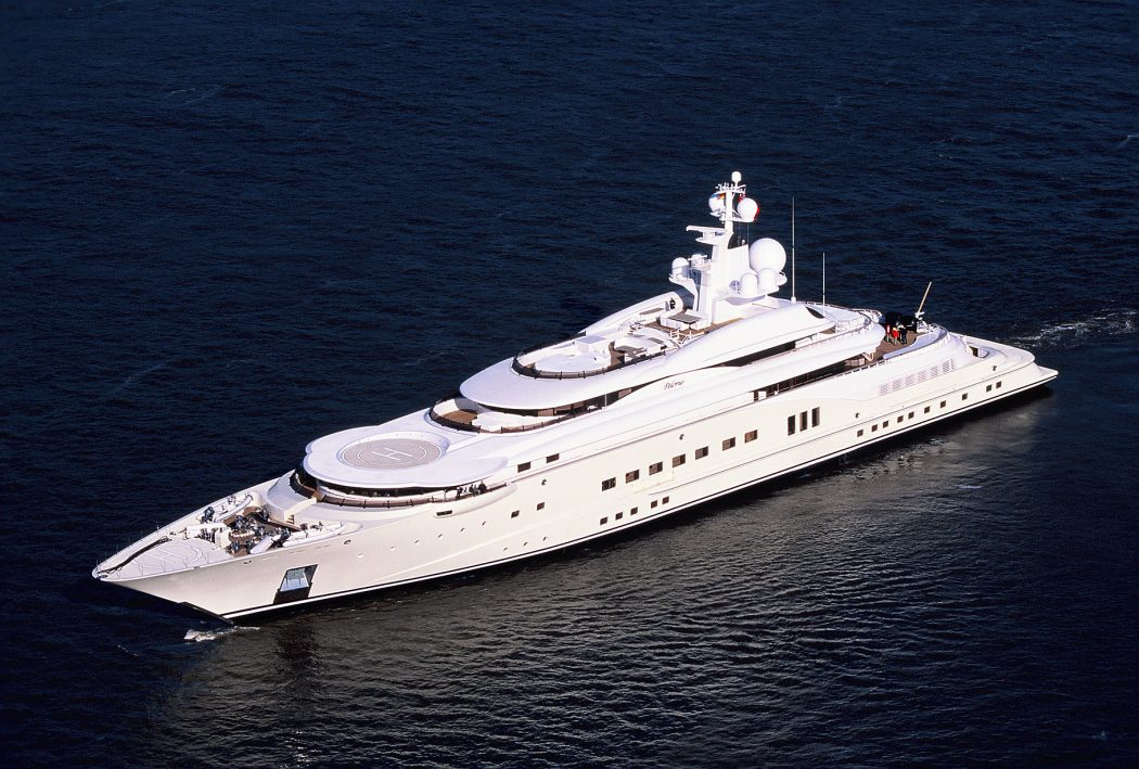 Pelorus-Yacht 15 Most luxurious Yachts in The World