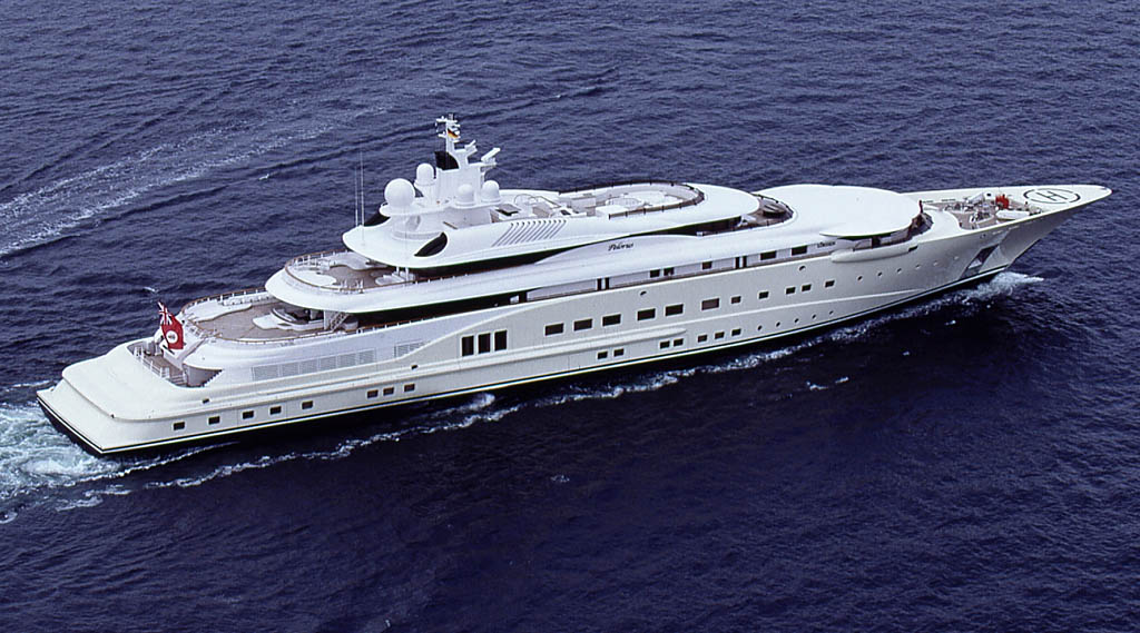 Pelorus 15 Most luxurious Yachts in The World