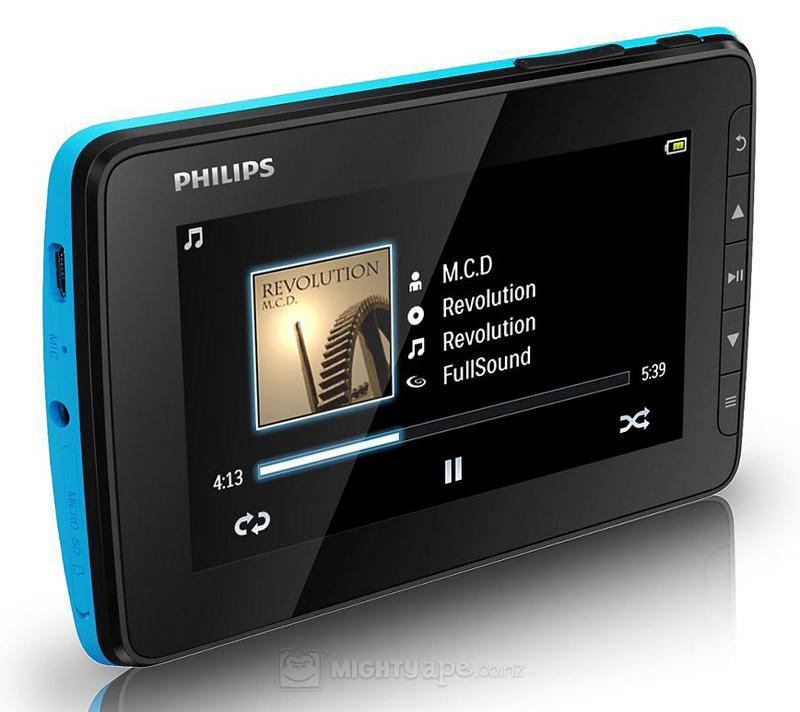 philips gogear video 4 3 mp4 player 4gb 13931119 5. Black Bedroom Furniture Sets. Home Design Ideas