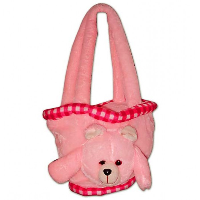 Pink-teddy-bag 15 Creative giveaways ideas for kids