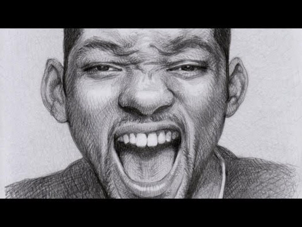 Portrait_of_Will_Smith Stunningly And Incredibly Realistic Pencil Portraits