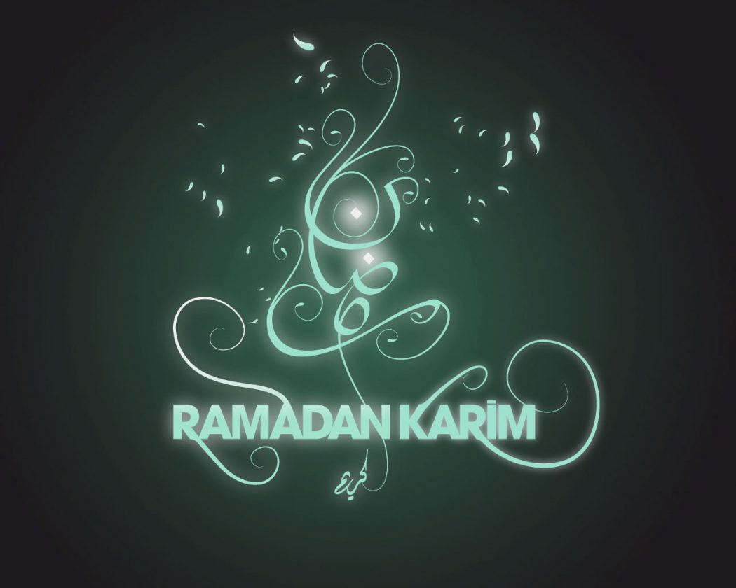 Ramadan-Mubarak-Wallpaper-Card-in-English Ramadan Greeting Cards As A Special Gift In The Holy Month