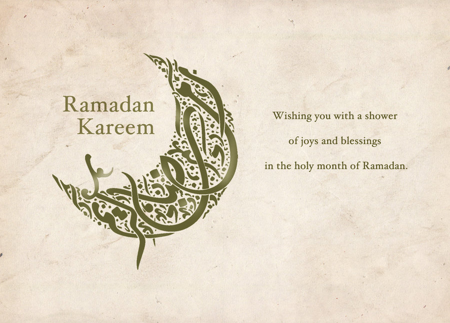 Ramadan_Kareem_Greeting_Card_by_vanessaglendagarcia Ramadan Greeting Cards As A Special Gift In The Holy Month