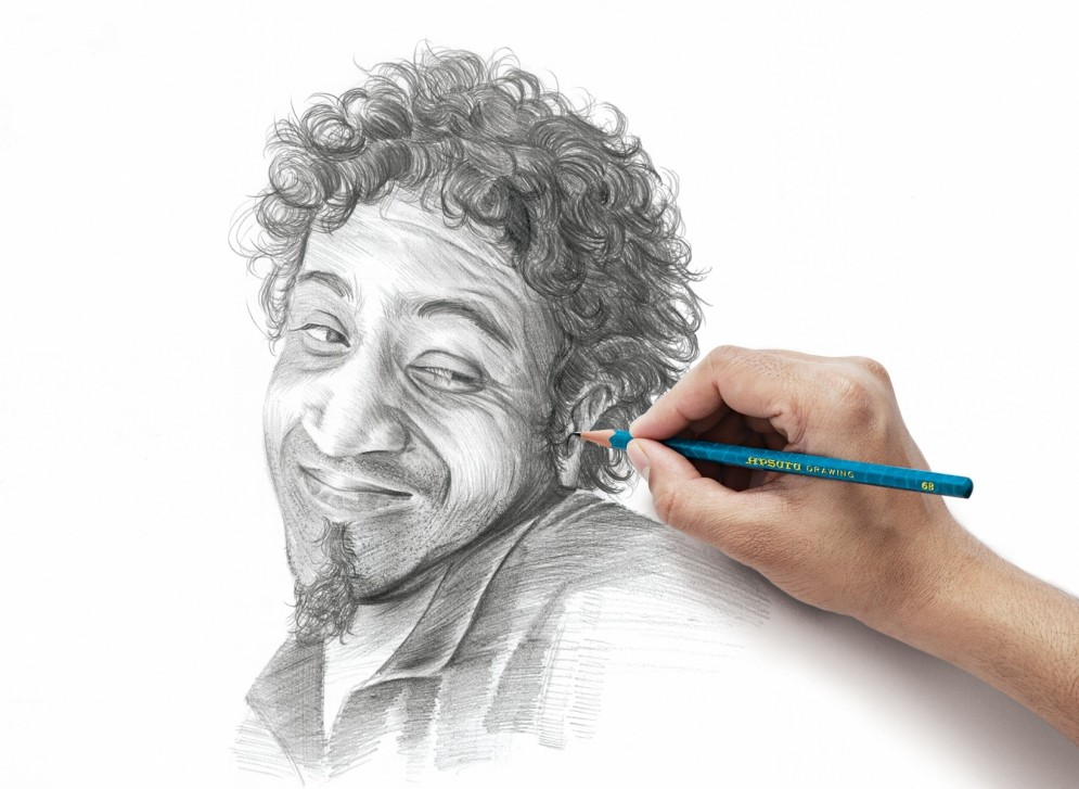 Reacting-Portraits-01-e1358511709444 Stunningly And Incredibly Realistic Pencil Portraits