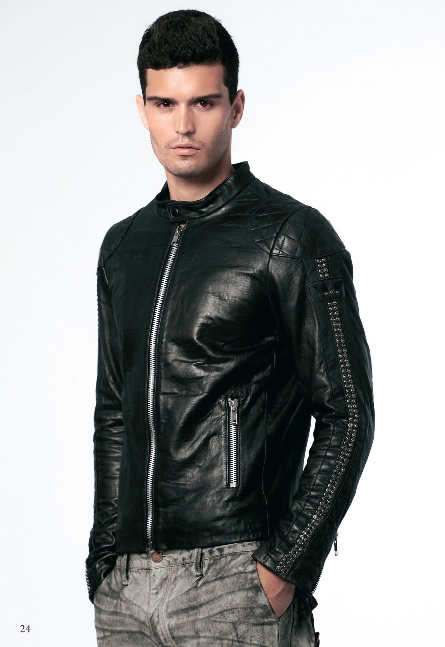 Robins-Jean-Spring-Summer-2013-Mens-Lookbook-9 To Buy The Best Leather Jacket For Men, Just Follow These 6 Steps