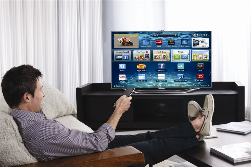 Samsung-Smart-TV What Are The Most Inspiring Appliances at Your House?