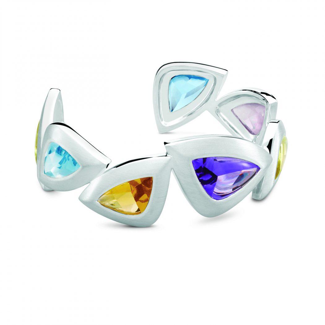 South_Atlantic_cuff_spring-colored-gemstones-Daniel-Bentley Best 30 Inspiring Jewelry Designs