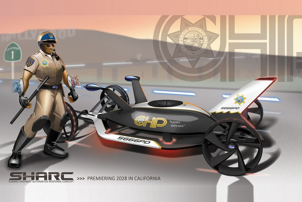 Subaru-SHARC-02 15 Futuristic Emergency Auto Design Ideas