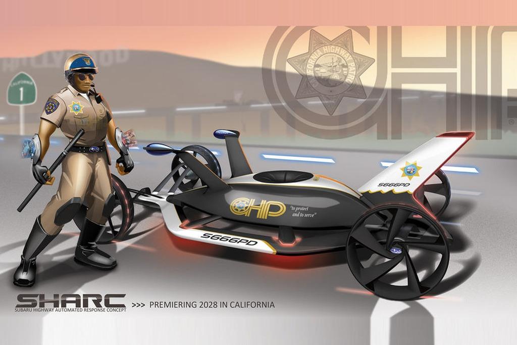 Subaru-SHARC-02 15 Futuristic Emergency Auto Design Ideas