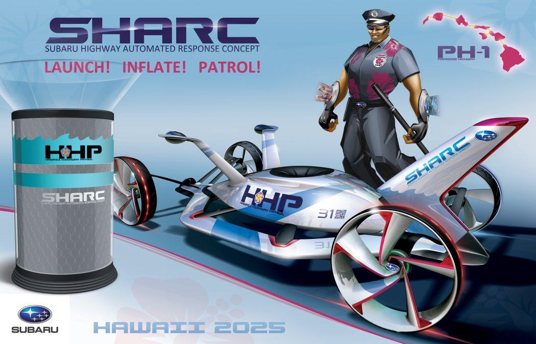 Subaru-SHARC-launch-inflate-patrol 15 Futuristic Emergency Auto Design Ideas