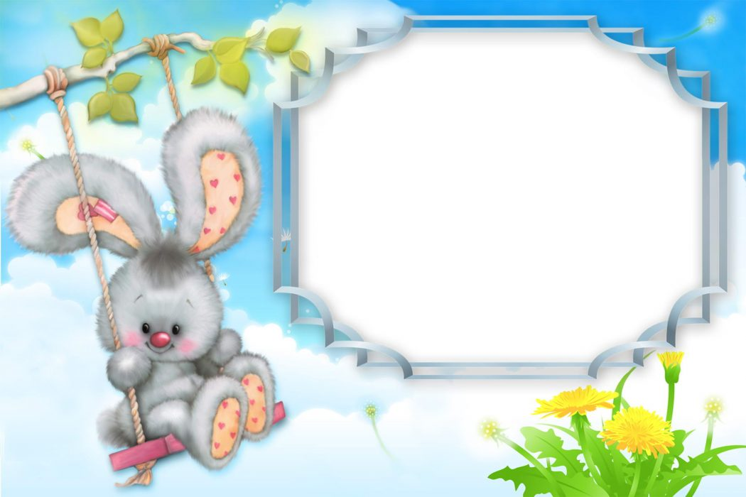 Sweet-Kid-Bunny-Photo-Frame-ForKids 15 Creative giveaways ideas for kids