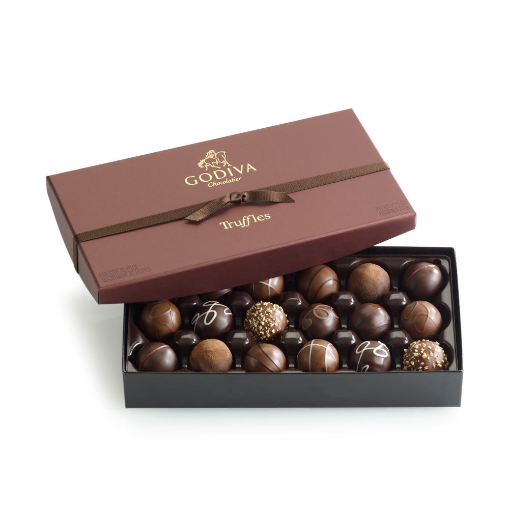 TRUFFLES18 35 Most Mouthwatering Romantic Chocolate Gifts