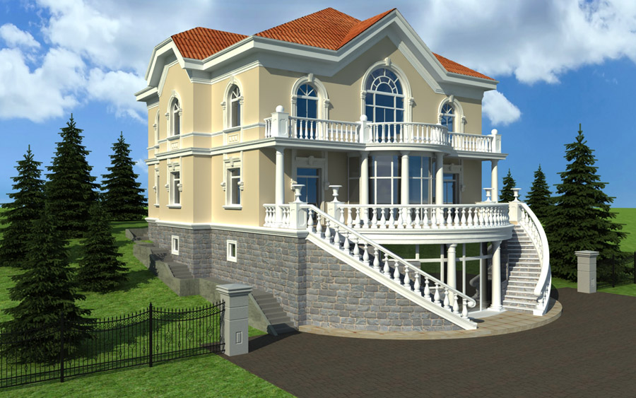 Toronto3d-residential-house-exterior-3d-architectural-rendering Top 3D Architecture Modeling