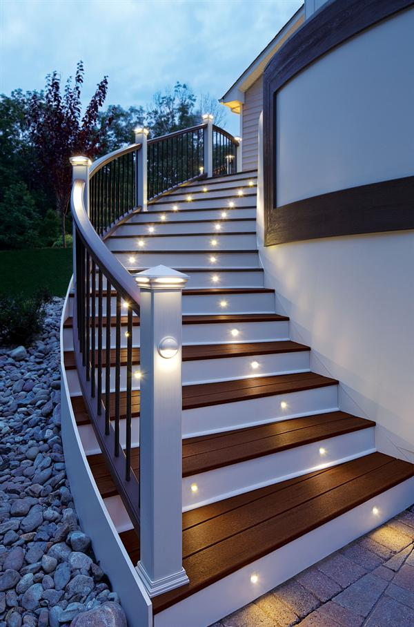 Trex-Deck-Lighting Creative 10 Ideas for Residential Lighting