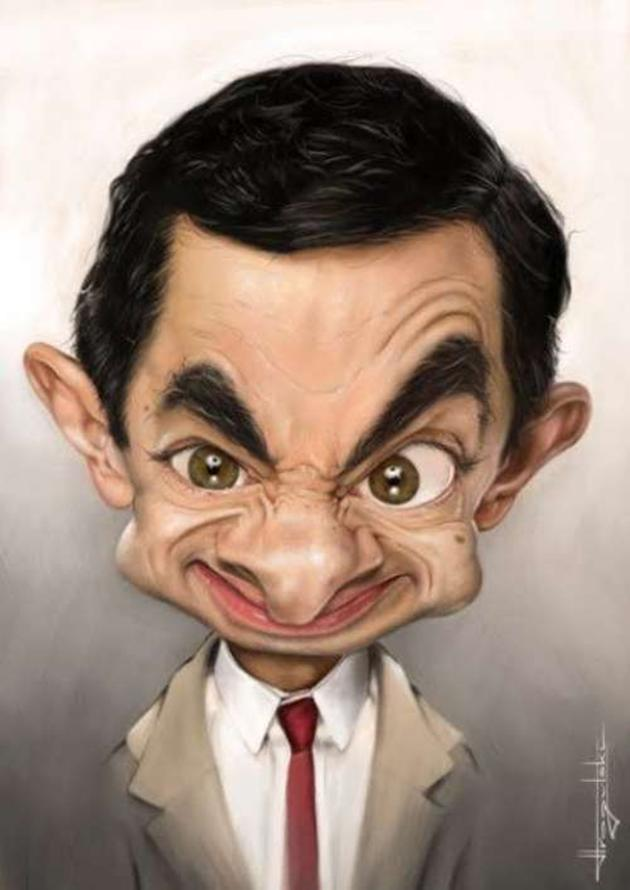VH-Mr.-Bean-Extremely-Funny-Caricature Do You Know How To Draw Caricatures?