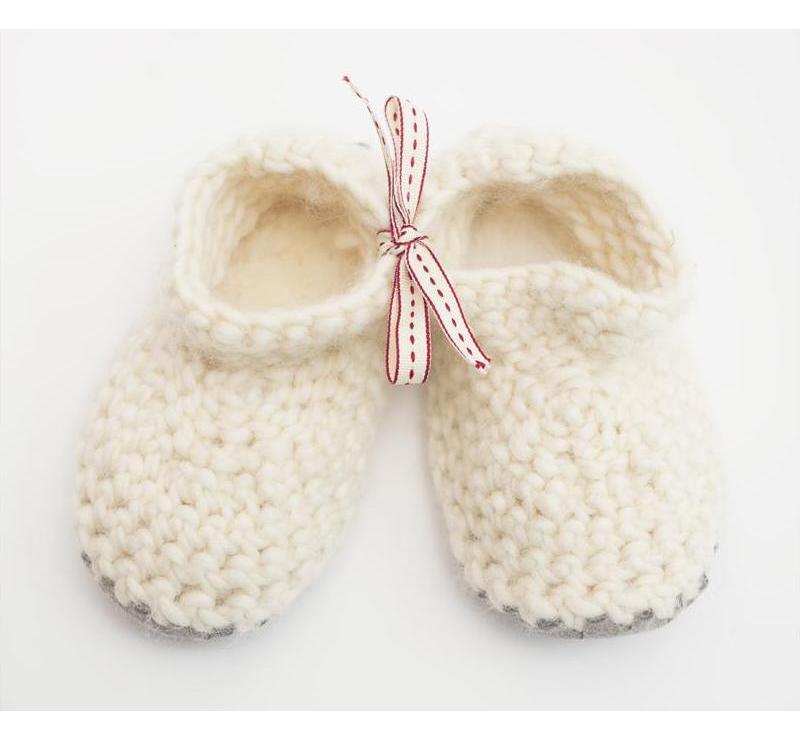 WelshCream-Merino-Wool-Childrens-Slippers-and-Baby-Booties Best 25 Baby Shower Gifts