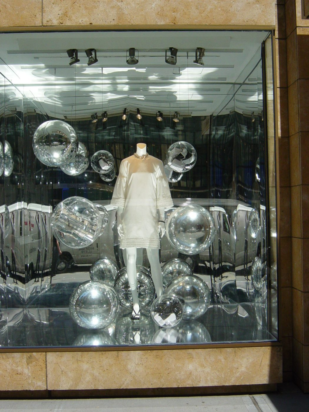 Windows-Silver-Spheres-001 15 Tips for How to Design Your Retail store