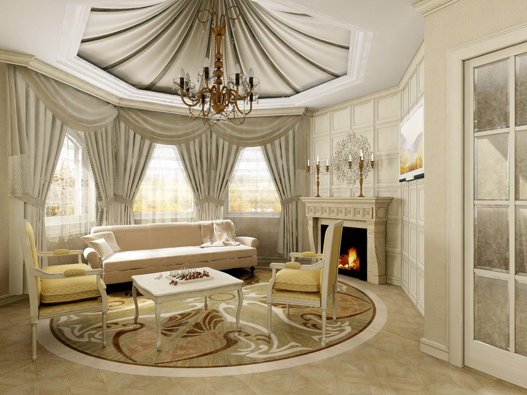 With-luxurious-classic-living-room-design-luxurious-living-room-design Most Popular Badcock Furniture