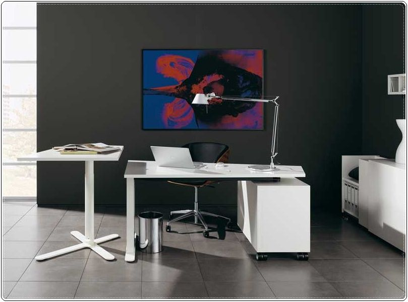 Wooden-Modern-Home-Office-Decorating-Ideas The Most Inspiring Office Decoration Designs