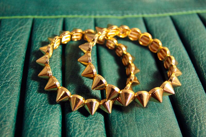 Wrist-Wednesday-Aldo-Spike-Bracelet_1 25+ Latest Celebrity Accessories Trends for 2020