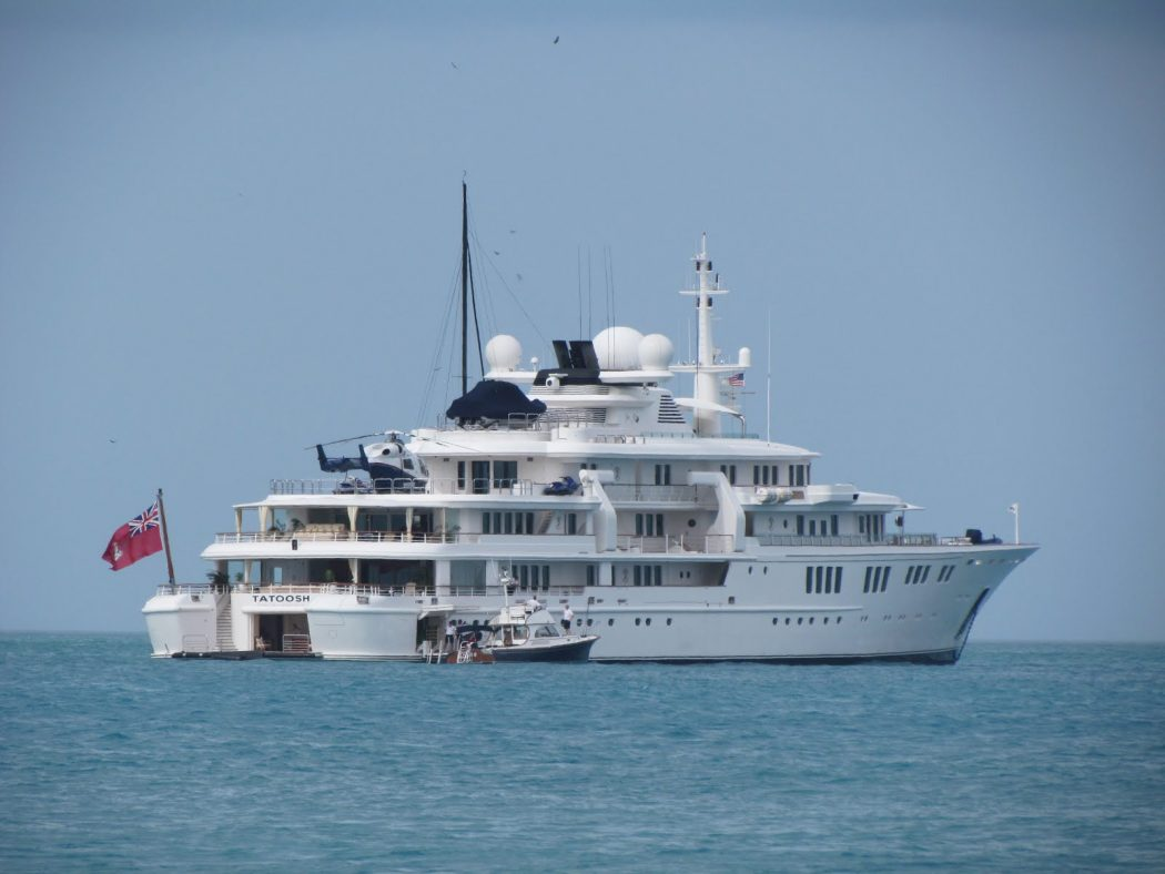 Yacht-Tatoosh 15 Most luxurious Yachts in The World