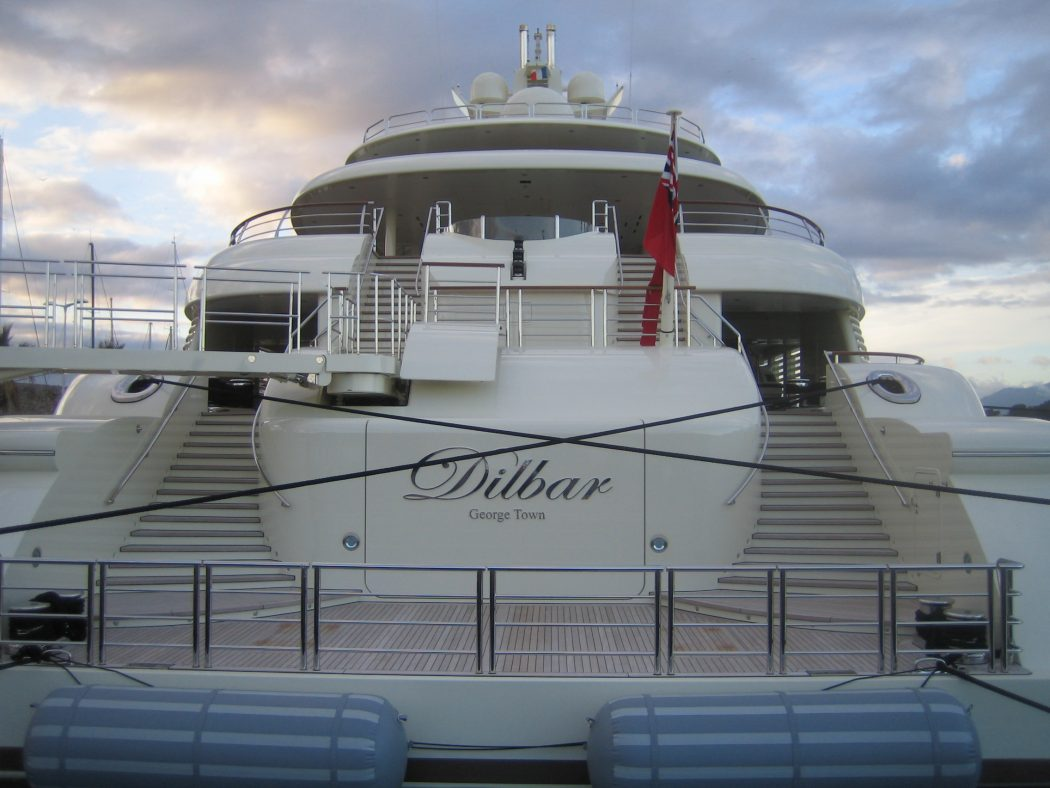Yacht_Dilbar_11 15 Most luxurious Yachts in The World