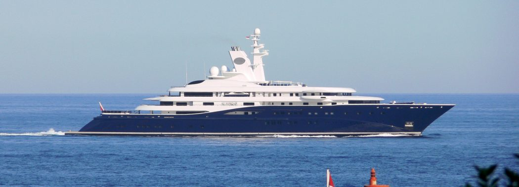 al-mirqab 15 Most luxurious Yachts in The World