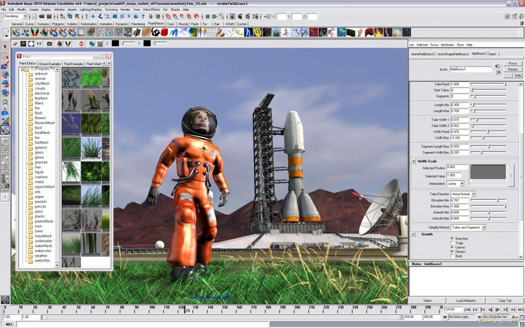 autodesk_maya_2010 Top 15 3D Design Software