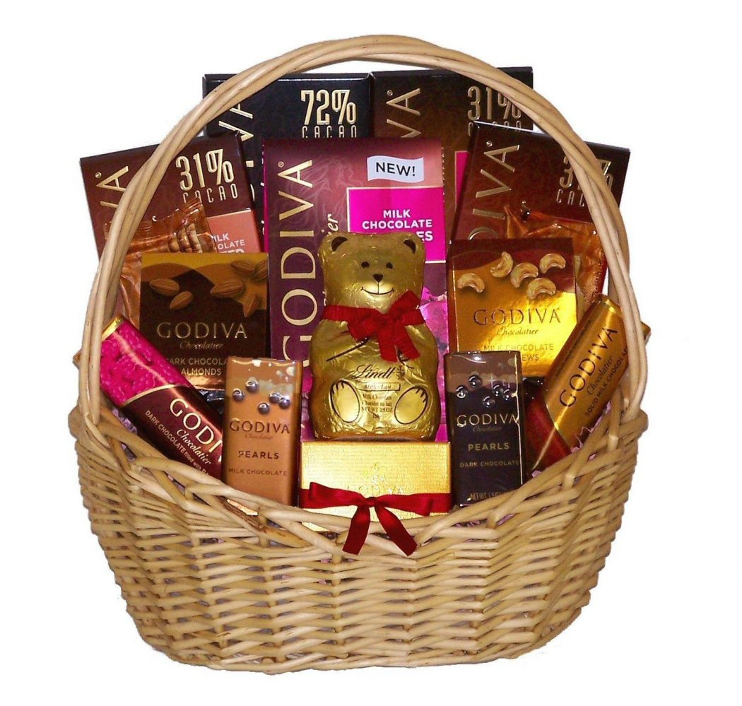 basket. 35 Most Mouthwatering Romantic Chocolate Gifts