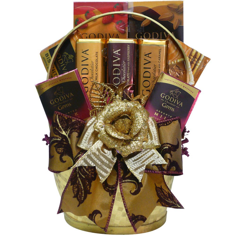 basket 35 Most Mouthwatering Romantic Chocolate Gifts