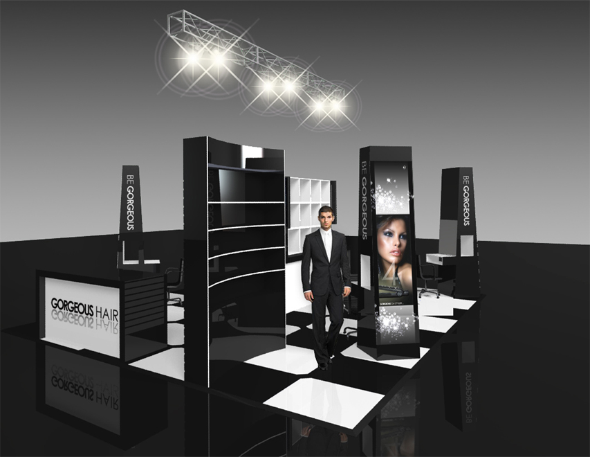 be-gorgeous-exhibition-design-1 Visual Marketing and Business Promotion Through Exhibition Designs