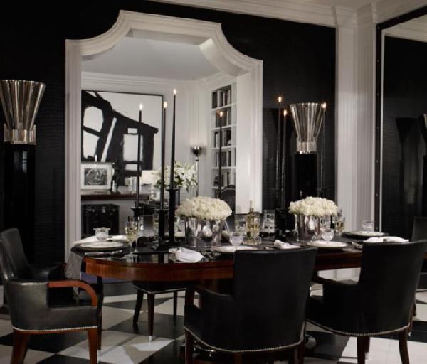 25 Elegant And Exquisite Gray Dining Room Ideas: 25 Elegant Black And White Dining Room Designs