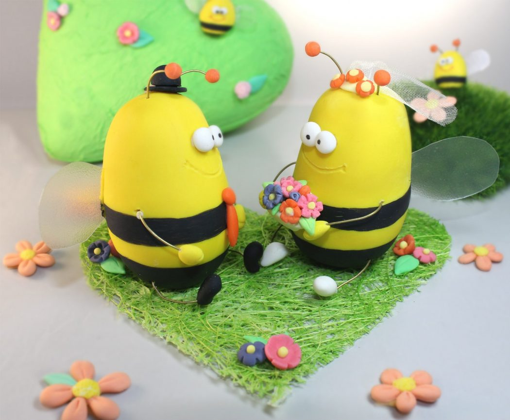 cake-toppers Stunning and Unique Clay Art Project Ideas