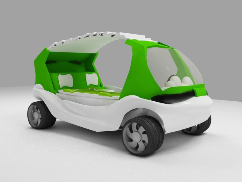 car-nurse1 15 Futuristic Emergency Auto Design Ideas