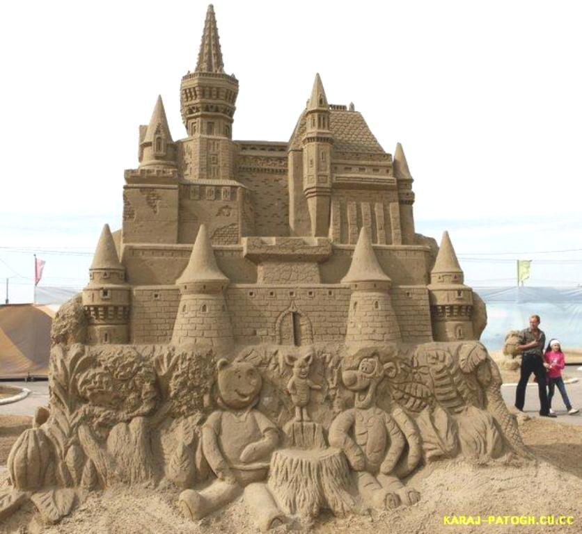 castle Learn How to Make Sand Art By Following These Easy Steps